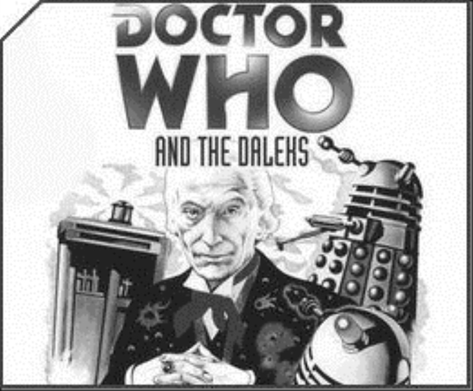 Doctor Who and the Daleks Cover