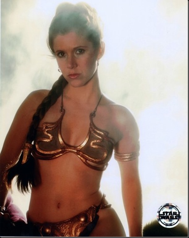 Slave Leia is the Sexiest Costume I've Seen
